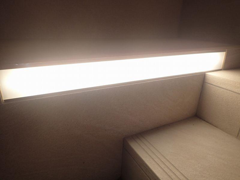 階段照明(夜)