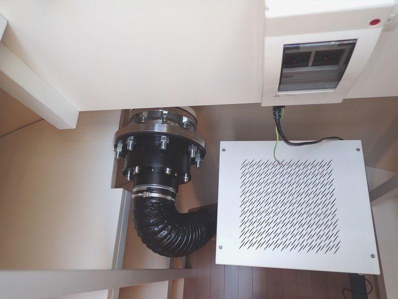 空気清浄器はAIR350を使用(放射能も除去できるそうです)