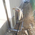 屋外水栓柱取付