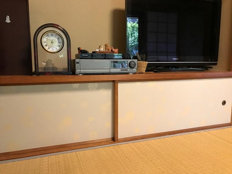 襖 京からかみ M-117海松の丸