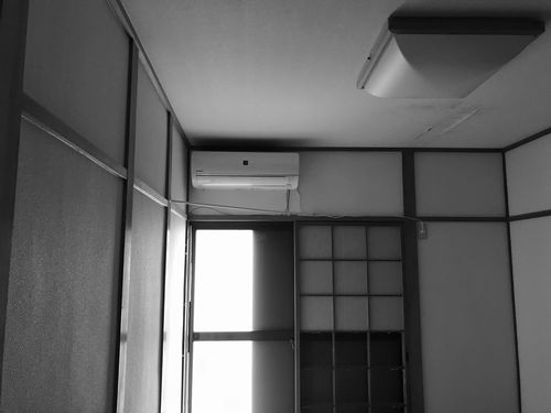 施工前:3階寝室 天井に雨漏れの痕跡あり